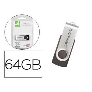 Memoria Q-connect flash usb 64 GB