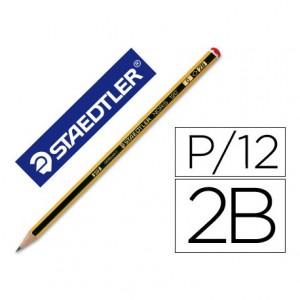 Lapices de grafito Staedtler Noris Nº0 2B