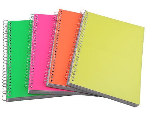 Características de la impresión en cuadernos