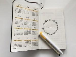 Como hacer un bullet journal para regalar