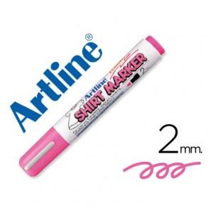 Rotulador para camisetas Artline rosa