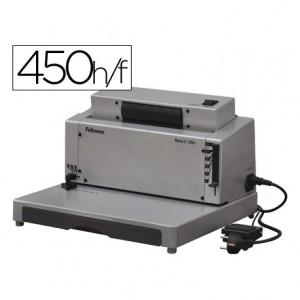 Encuadernadora electrica para espiral Fellowes Metal E-200r
