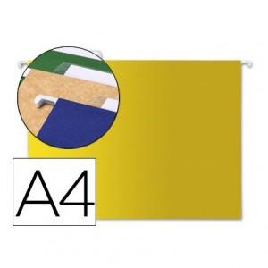 Carpeta colgante Liderpapel A4 Kraft Amarillo