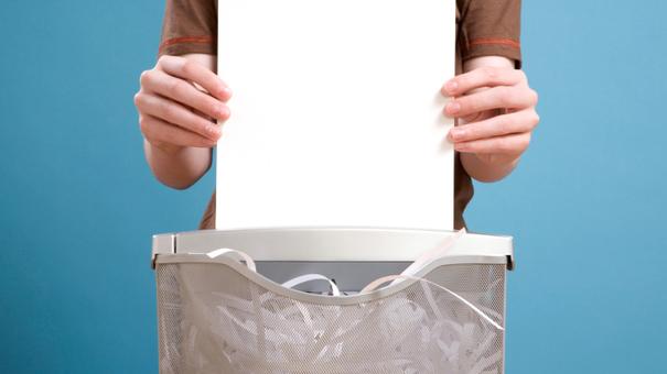 Cuidados y mantenimiento para destructoras de papel