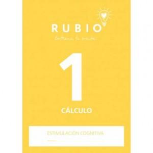 Cuaderno Rubio Cálculo 1 Estimulación Cognitiva 20 páginas