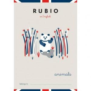 Cuaderno Rubio English Animals