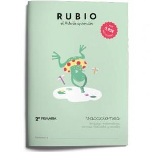 Cuaderno Rubio Vacaciones 2º Primaria Repaso