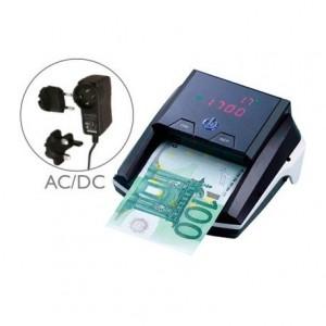 Detector Q-Connect billetes falsos cargador electrico puerto usb actualizacion de divisas
