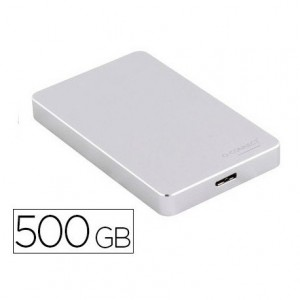 Disco duro externo Q-Connect 500GB