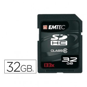 Memoria Flash SD 133X Emtec