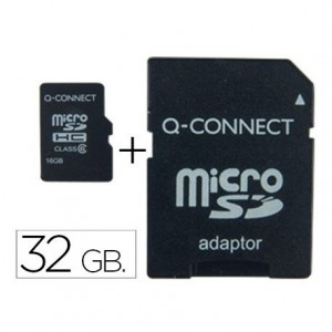 Memoria Flash USB Micro SDHC Q-connect