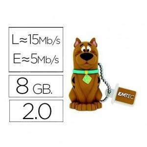 Memoria USB 8GB Scooby Doo Marca EMTEC