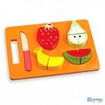 Juego de Imitacion para bebes a partir de 1 año Frutas para cortar marca Ambitoys