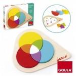Puzzle Educativo Cromático a partir de un año 7 piezas marca Goula