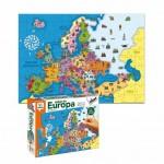 Puzzle a partir de 7 años Países de Europa marca Diset