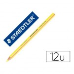 Lapices Fluorescentes Staedtler Triangular Top Star Amarillo Caja 12 unidades