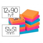 Post-It ® Bloc de Notas Quita y Pon Super Sticky 51X51 mm Bangkok