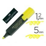 Rotulador Faber-Castell amarillo