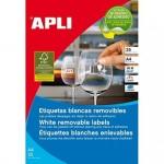 Etiqueta adhesiva Apli 35,6 X 16,9