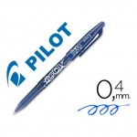Boligrafo Borrable roller Pilot Frixion 0,4 mm Color Azul