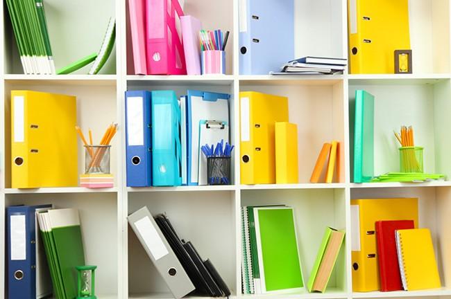 La mejor forma de organizarse con un archivador