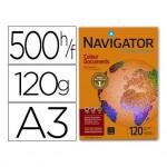 Papel fotocopiadora Navigator A3 120 gr Paquete 500 hojas