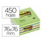 Post-it ® Bloc quita y pon 76 x 76 mm