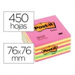 Post-it ® Bloc quita y pon varios colores