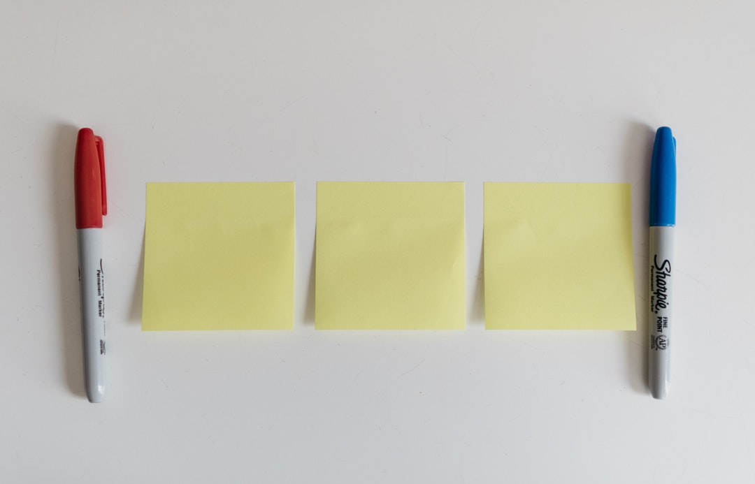 Cómo usar post it en el trabajo